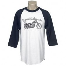 Lowbrow Customs Knuckleheads Never Die Raglan Shirt