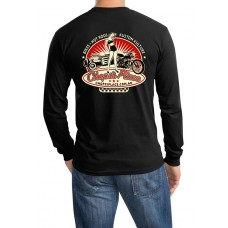 Chops's Place Long Sleeve T-Shirt - Black