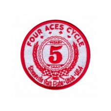 Four Aces Cycle 5-year Bonneville Racing Patch - Limited Edition 2010