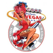 Vegas Pinup Sticker