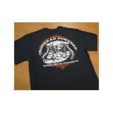 Lowbrow Customs Ironhead Powered Sportster T-Shirt