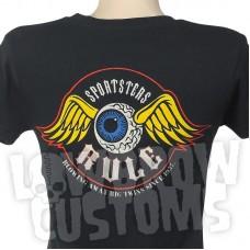 Lowbrow Customs Ladies Sportsters Rule T-Shirt